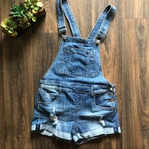 [Dollhouse] denim overalls